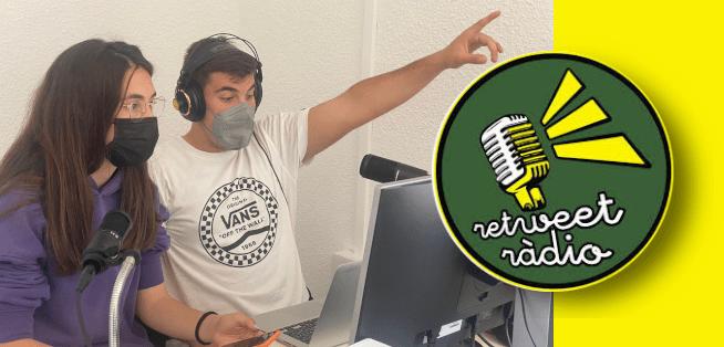 L'IES J.Coromines de Benicarló col·labora amb Retweet Ràdio