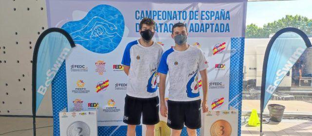 Brillant participació de Sergi Castell en el Campionat d'Espanya de clubs de natació adaptada
