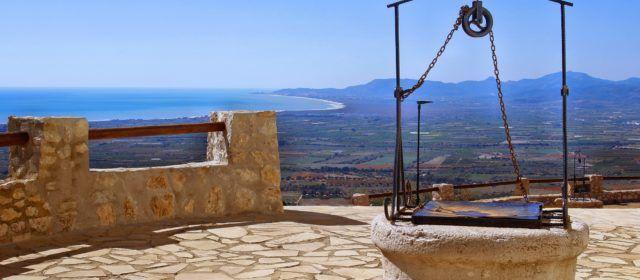 Ben Vist: ermita de Santa Llúcia d'Alcossebre