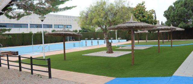 Millores a les piscines municipals de l'Aldea