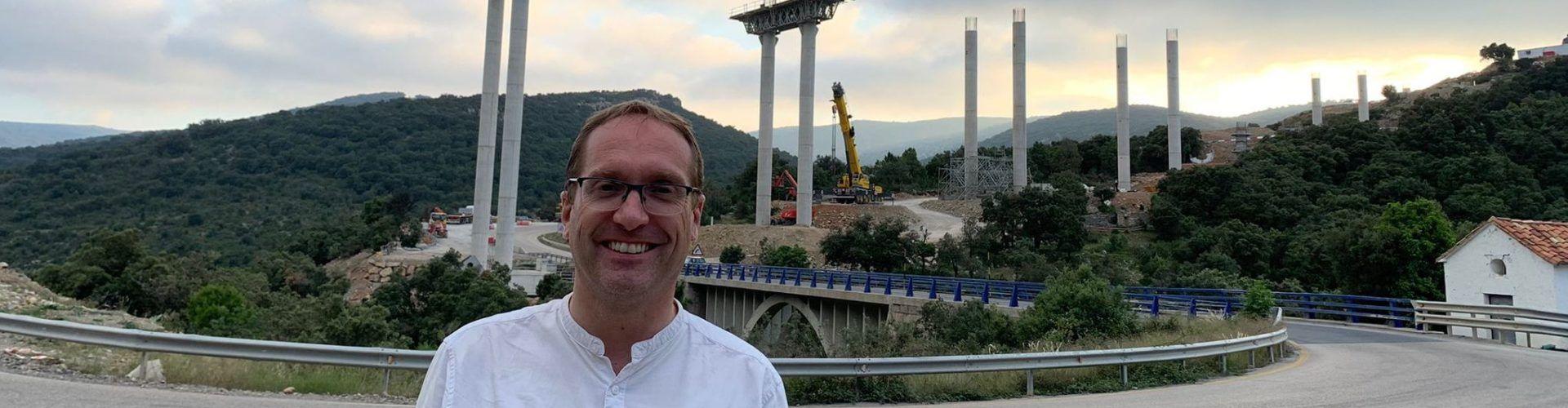 Blanch (PSPV-PSOE) destaca l'avanç del viaducte de la N-232 com un pas més per la vertebració territorial de les comarques de Els Ports i el Maestrat