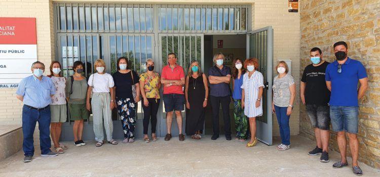 Fotos: Portes obertes per a mestres a l'aulari de Canet