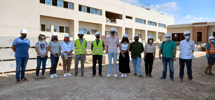Visita d'autoritats a les obres del nou CEIP Jaume I i l'IES Vilaplana de Vinaròs
