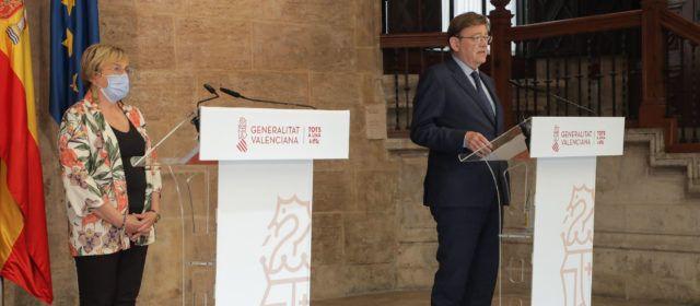 Ximo Puig anuncia mesures més dures davant l'augment de casos de covid