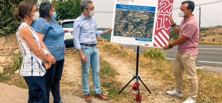 La Generalitat invierte 12,9 millones de euros en la mejora de la red de carreteras del interior de Castellón