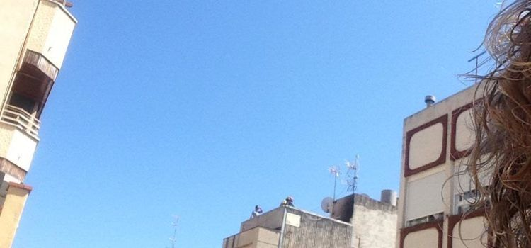 Vídeo y fotos: Conato de incendio en Benicarló