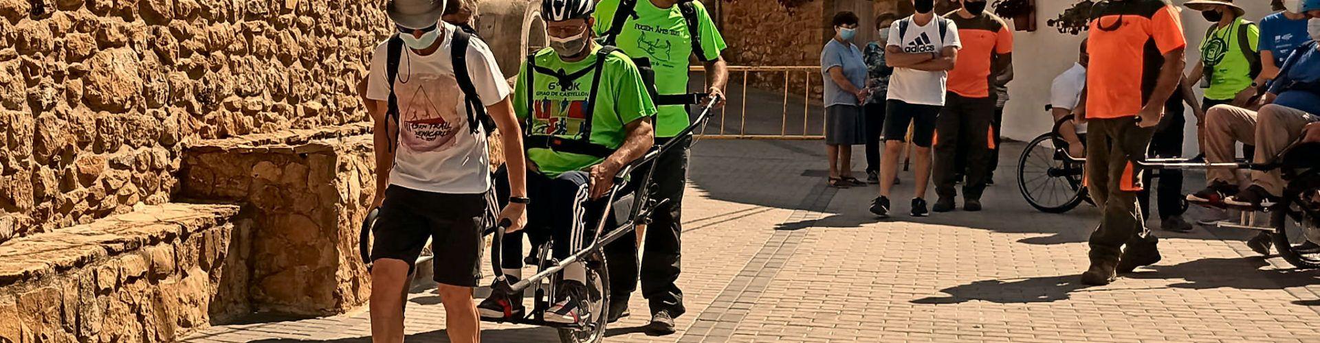 El Parque Natural de la Tinença de Benifassà estrena sillas de ruedas adaptadas