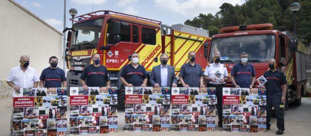 """José Martí destaca el """"treball excepcional"""" dels bombers voluntaris dels cinc parcs de la província per preservar l'entorn natural de Castelló"""