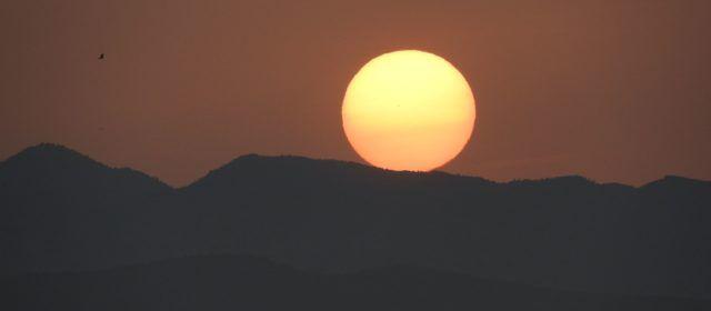 Fotos: Posta de sol des de Vinaròs