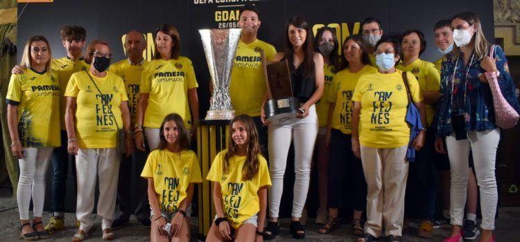 L'Europa League del Villarreal arriba a Morella