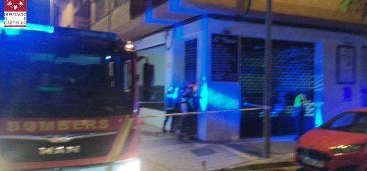 Incendios en la cocina de un restaurante de Benicarló y en una tienda de Vinaròs