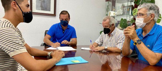 L'Ajuntament de Peníscola i el Centre d'Iniciatives Culturals signen un conveni de col·laboració