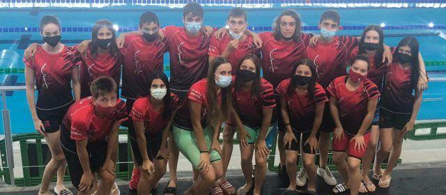 15 nadadors del Club Natació Vinaròs en el Campionat Autonòmic Infantil