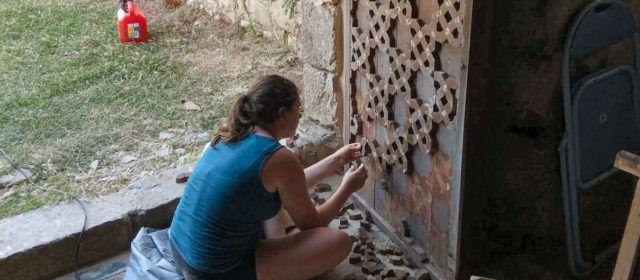 Restaurada la porta de l'ermita de S.Àgueda de Vallibona, però denegada una subvenció