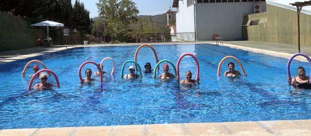 Arranquen les classes d'Aquagym a Santa Magdalena