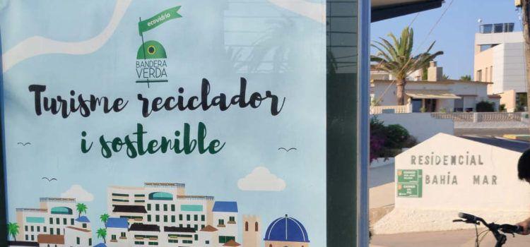 Vinaròs competirà aquest estiu per aconseguir la Bandera Verda d'Ecovidrio