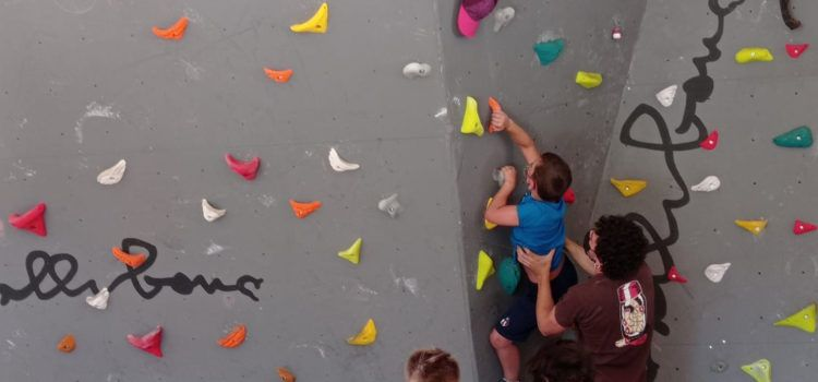 Aprendre a escalar a Vallibona