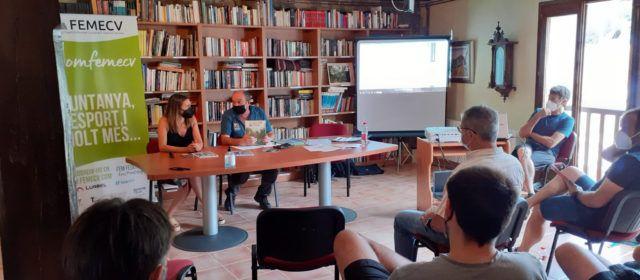 La diputada Tania Baños assisteix a Vallibona a les Jornades sobre Senderisme i Desenvolupament Rural Sostenible