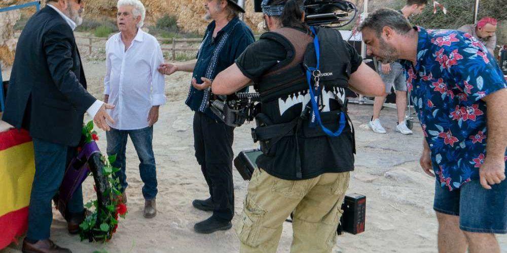 Peñíscola acoge el rodaje del documental sobre Berlanga que dirige Rafael Maluenda