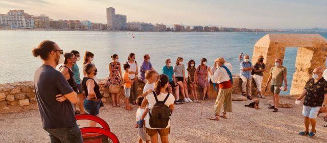 Excel·lent acolliment i valoració de les primeres Visites Marineres a la ciutadella de Peníscola