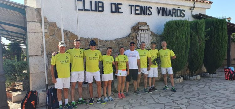 Victoria del Club de Tenis Vinaròs en el comarcal de pádel