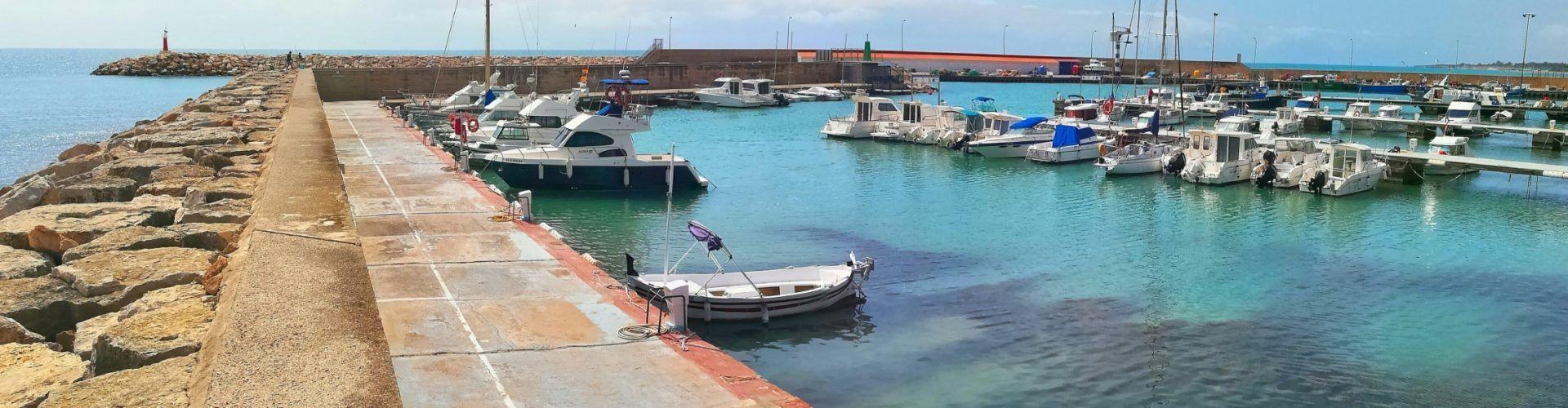 Ben Vist: Port de les Cases d'Alcanar