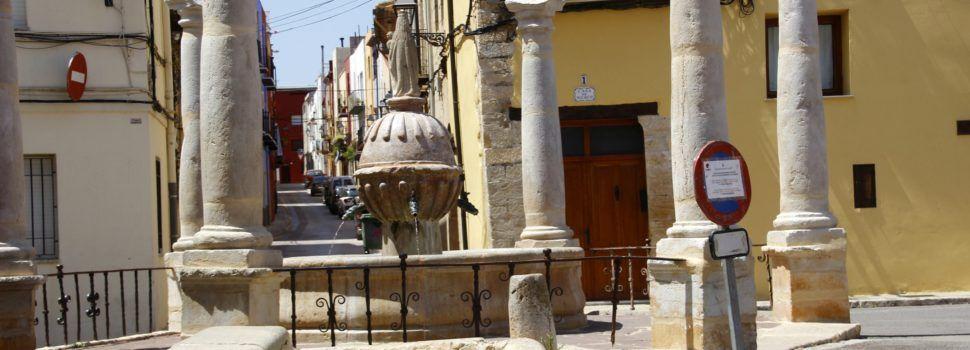 Ben Vist: Plaça de la Mare de Déu de la Font de Sant Mateu