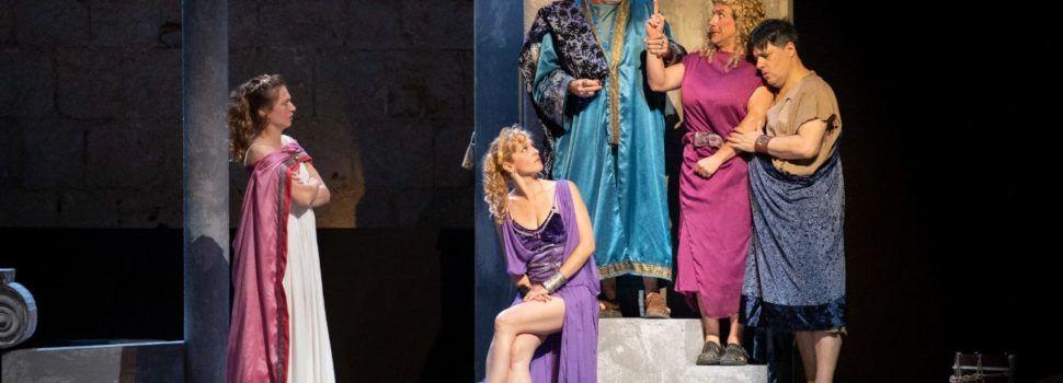 'Mercado de amores' se estrena en Peñíscola con la aclamación del público del Festival Internacional de Teatro Clásico