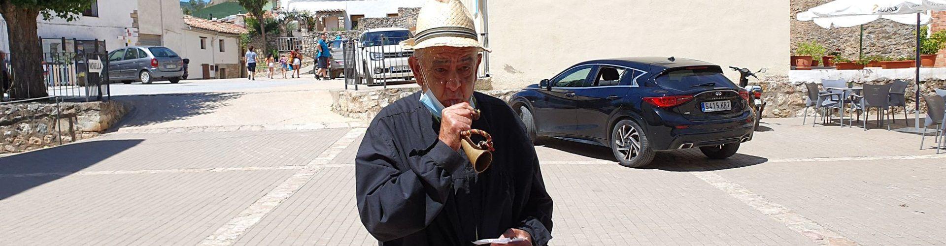 Vídeo: Josep Maria Meseguer també pregona casaments a Vallibona