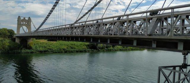 Fotos: el pont penjant d'Amposta