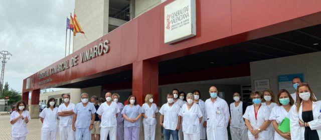 El Departament de Salut de Vinaròs apoya al personal de la UCI de La Plana