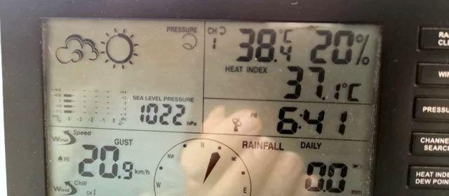 """Temperaturas disparadas, fuertes rachas de viento y """"reventones cálidos"""""""