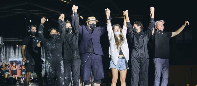 La Fura dels Baus clausura el II Festival Vinaròs Arts Escèniques en una nit màgica i avantguardista