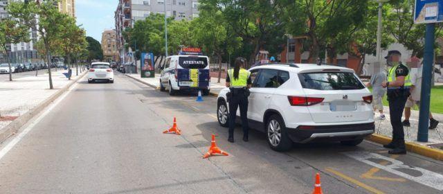 La Policia Local realitza controls de vehicles per a la prevenció del consum de drogues i alcohol