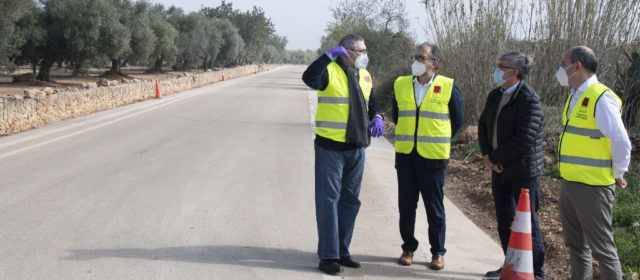 Santi Pérez posa en valor els 10,4 milions d'euros invertits per la Diputació en carreteres i pistes per a guanyar en seguretat viària i forestal