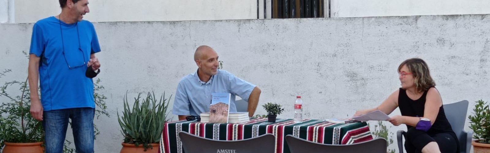 Fèlix Edo presenta el seu últim llibre a Vallibona
