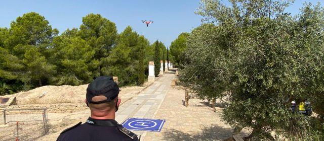 La Policia Local de Vinaròs realitza tasques de vigilància preventiva amb dron
