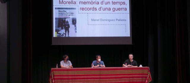 """Manel Domínguez presenta el llibre""""Morella: memòria d'un temps, records d'una guerra"""""""