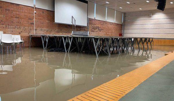 L'Ajuntament demanarà una reunió amb l'ACA per tractar els problemes d'evacuació d'aigua de pluja