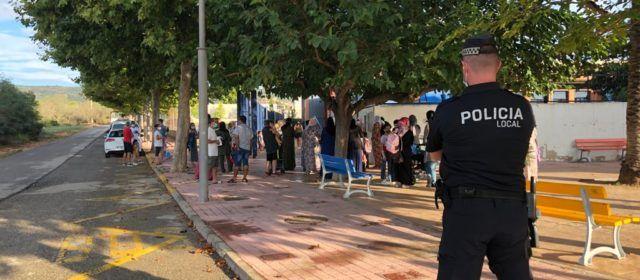 L'Ajuntament d'Alcalà-Alcossebrecontinua realitzant accions preventives COVID-19 en els centres educatius