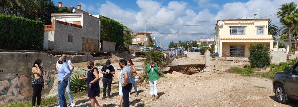 Alcanar y Vinaròs, aprobadas por el Consejo de Ministros como zonas afectadas gravemente por emergencias