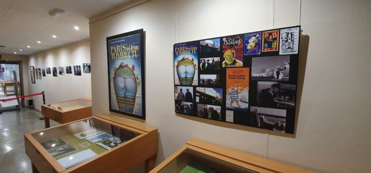 Fotos: exposició sobre Berlanga a Vinaròs