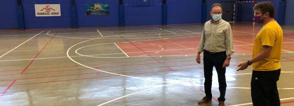 L'Ajuntament d'Alcalà-Alcossebrerenovarà el paviment del Pavelló Poliesportiu Municipal