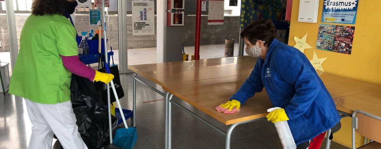 L'Ajuntament d'Alcalà-Alcossebrecontractarà a a tres peons de neteja a través del programaAvalemExperiènciaPlus