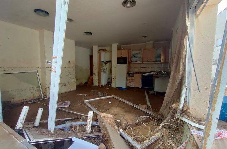 Fotos: Les Cases intenta reviscolar després dels aiguats