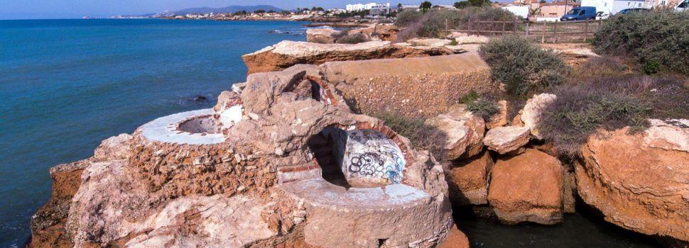 Jaciments arqueològics de Vinaròs afegits a l'inventari de la Conselleria de Cultura (IV): Búnker de la Roca de la Gavina