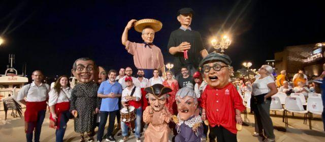 Vídeos i fotos: Els nanos i gegants de Vinaròs s'acomiaden de l'Alguer