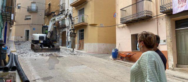 Càlig enceta les obres del Carrer Sant Roc i de la Plaça Vella