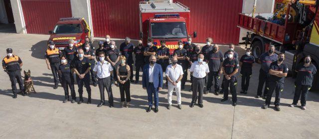 José Martí posa en valor que aquest estiu els bombers de la Diputació han rescatat a 34 persones en situació de greu risc vital