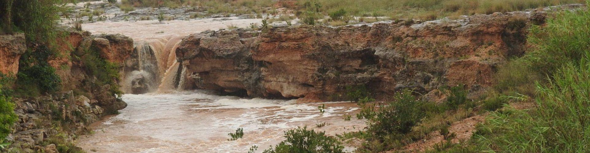 Fotos: El Servol torna a baixar, després de les pluges de l'1 de setembre